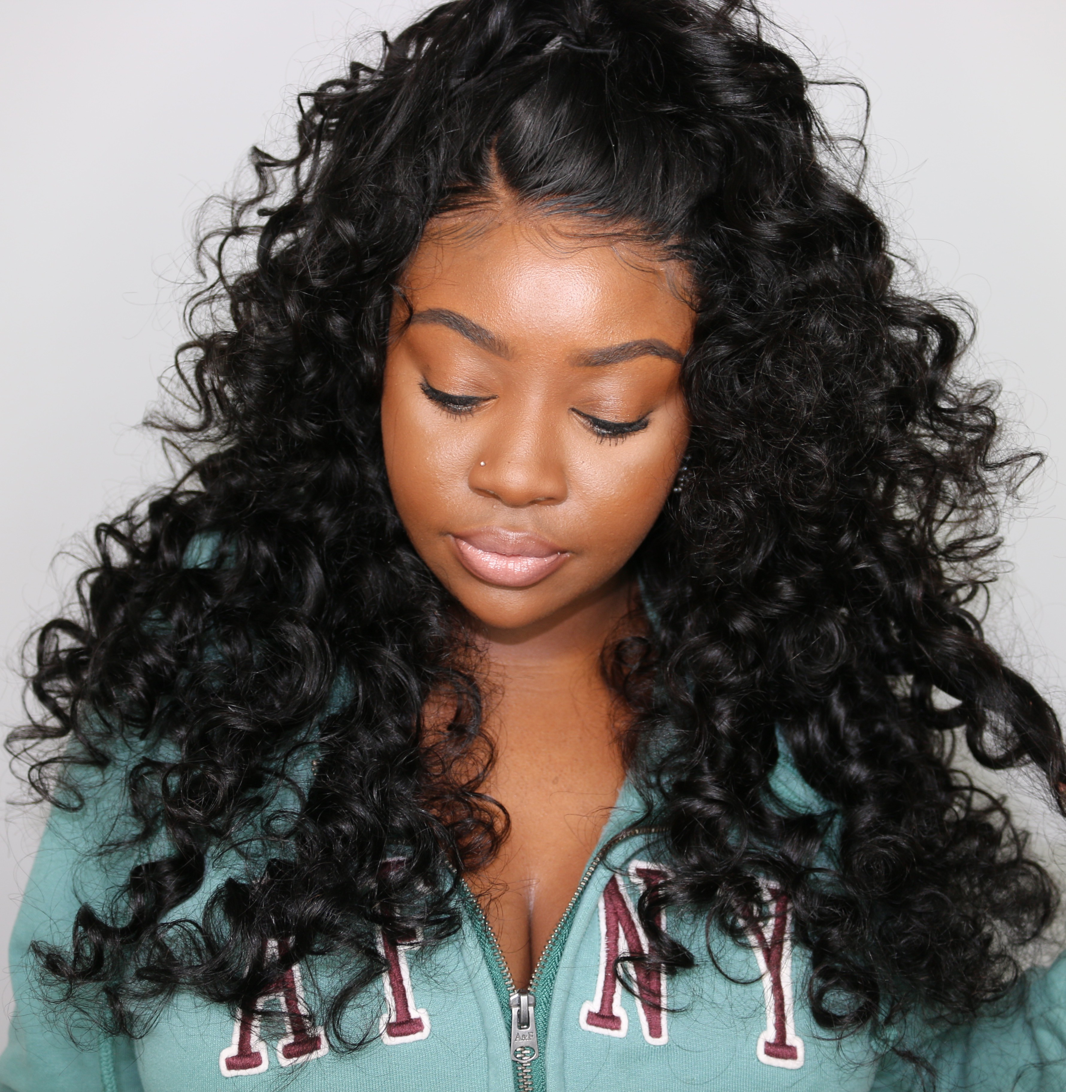 Ashley Recommend Loose Wave Virgin Human Hair Lace Front Wig