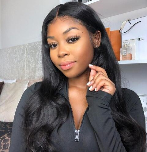 Lisaah Recommend Silk Straight Brazilian Virgin Human Hair Lace Front Wig