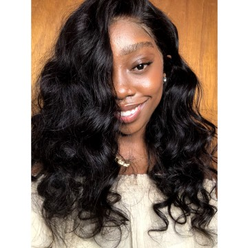 Exquisite Recommend Beautiful Loose Wave Brazilian Virgin Human Hair Full Lace Wig