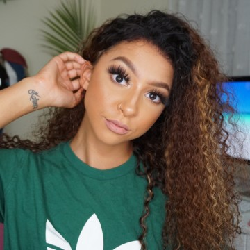Lexi Recommend High Fashion Best Price Brazilian Virgin Hair Kinky Curly Highlight Ombre Color Lace Front Wig