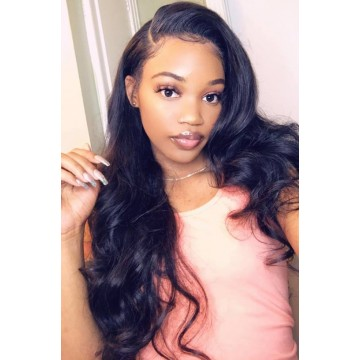 Celebrity Recommend Best Selling Silky Straight Brazilian Virgin Human Hair 360 Lace Frontal Wig