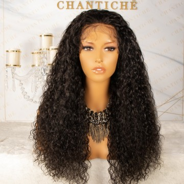 HD Dream Swiss Lace Everyday Look Brazilian Virgin Human Hair Curly Lace Front Wig